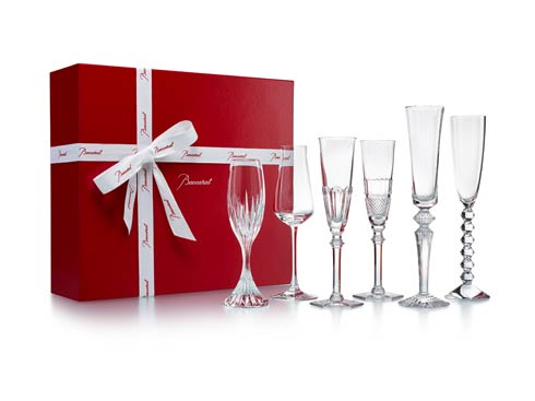 $990.00 Bubbles in a Box Champagne, Set of Six