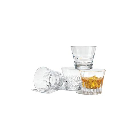 Baccarat   Dallas Double Old Fashioned Tumbler, Set of Four $290.00