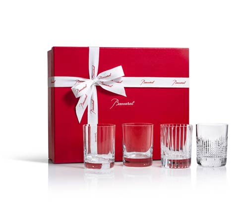 Baccarat  Four Elements Double Old Fashioned Tumblers $490.00