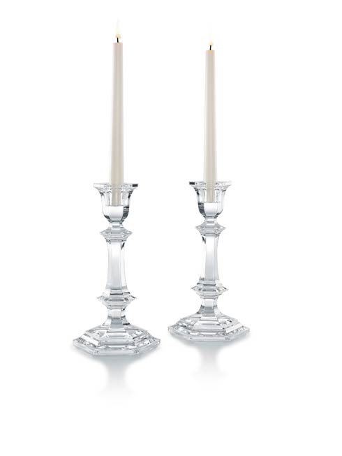 Baccarat  Harcourt Candlestick, Set of Two $430.00