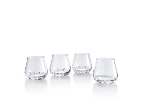 $490.00 Jaime Hayon Engraved Double Old Fashioned Tumbler, Set of Four