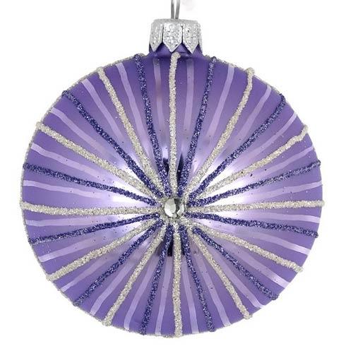 """$79.00 4 Pcs Lavender Stripe 4"""""""