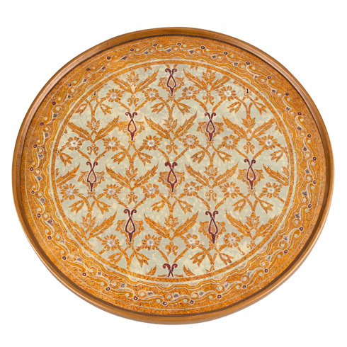 $45.00 Antigua Sand Rnd Tray/Charger