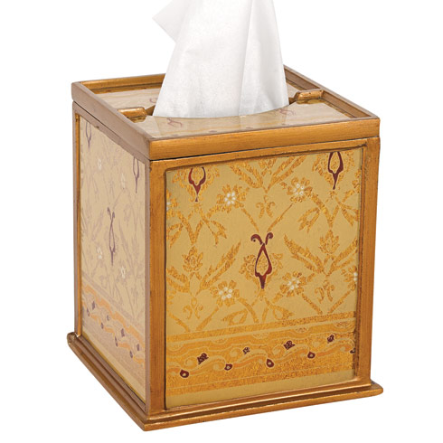 $65.00 Antigua Sand Tissue Holder