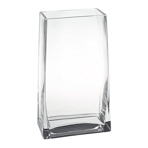 "Badash  Lexington Daydream Rectangle 7"" Handmade Glass Vase. $24.99"