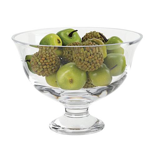 "Badash  Decor Monica European Mouth Blown D9.25 x7.5"" Pedestal  or Revere Lead Free Crystal Fruit  Bowl $69.00"
