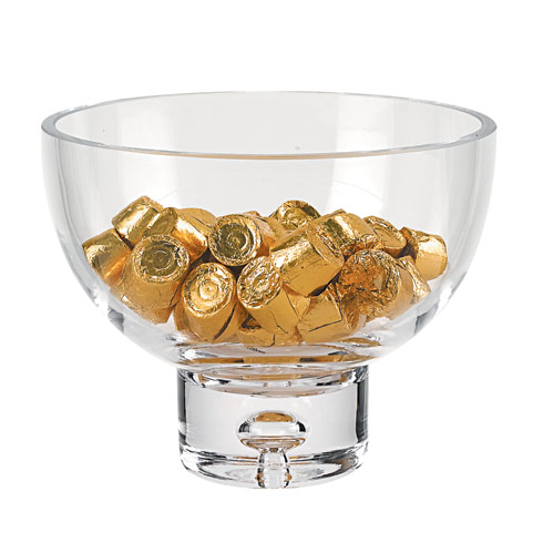 $54.95 Galaxy Pedestal Candy or Nut  Bowl D6.25 xH5""