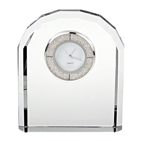 Diamonds Clock