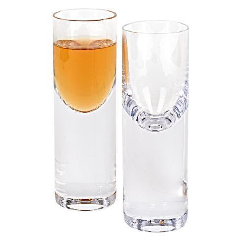 "$49.00 Pair of Classic Shot or Vodka Glasses 1.25 oz. - H5"""