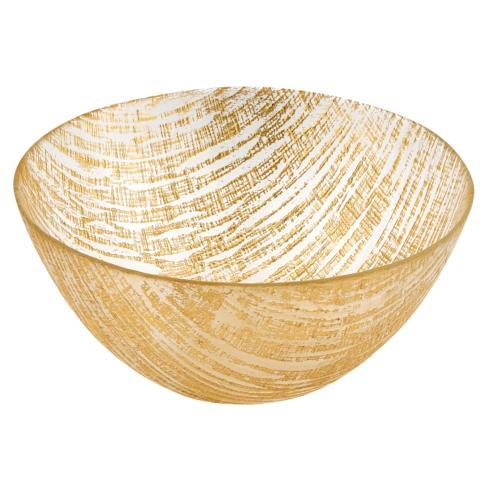 $29.95 Secret Treasure Handcrafted Glass Bowl D 8.75""