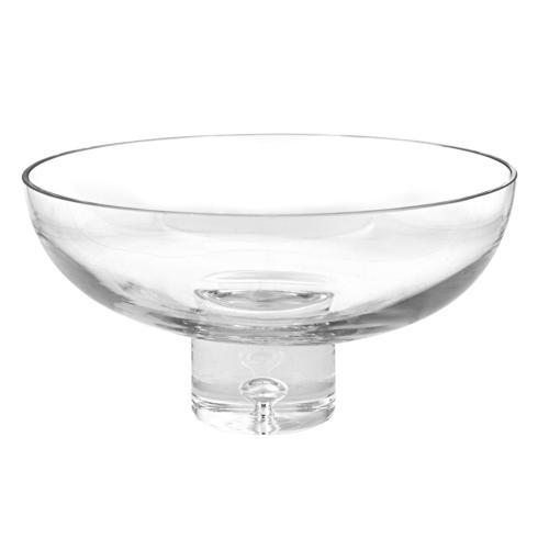 "$99.95 European Mouth Blown Deep Pedestal D11"" x 5.75"" Bowl"