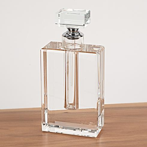 "$59.95 Joy Optical Crystal 7.5"" Tall Perfume Bottle"