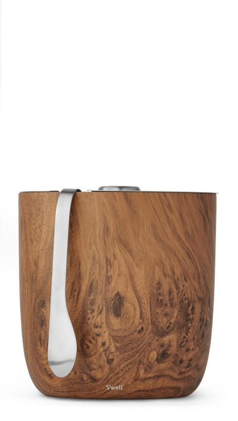 $50.00 TEAKWOOD ICE BUCKET
