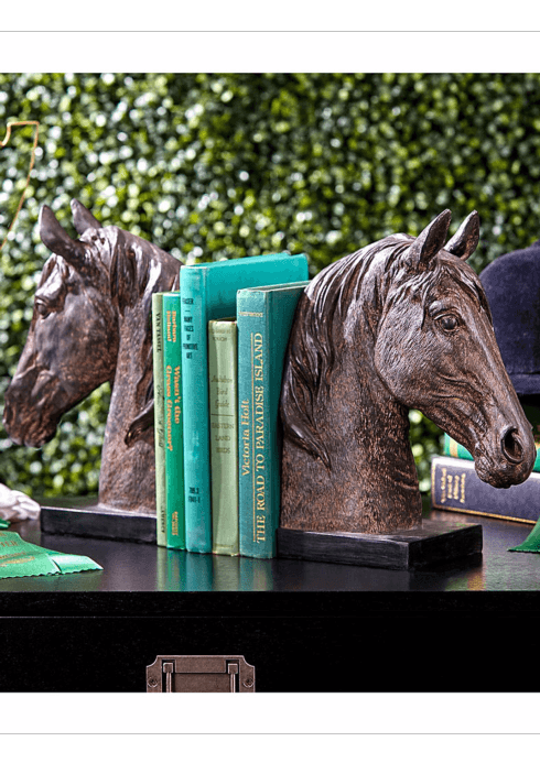 $135.00 HORSE BOOKENDS
