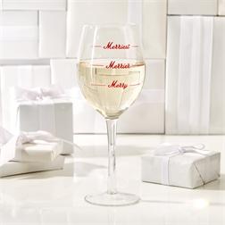 $19.00 MERRIEST WINE GLASS