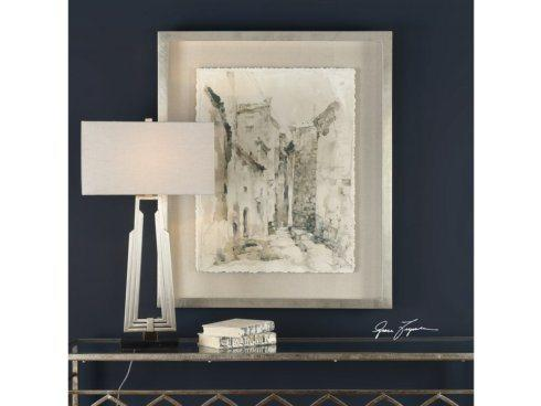 Barbara Stewart Exclusives   ALLEY VINTAGE FRAMED ARTWORK $345.00