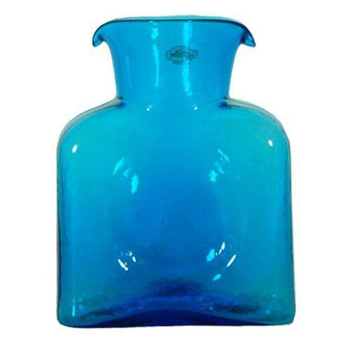 Blenko Glass Co   WATER BOTTLE-TURQ $54.00