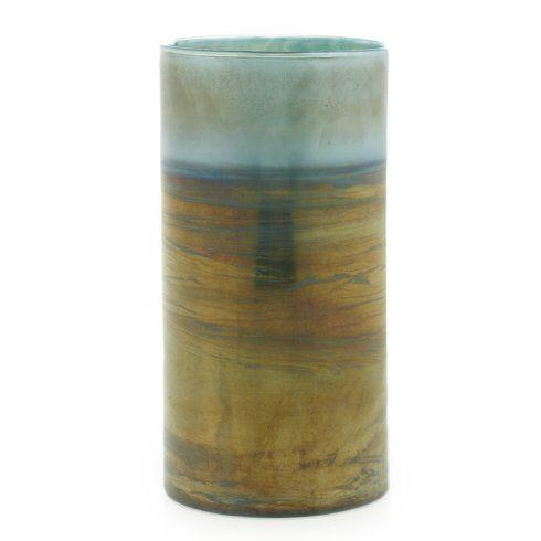 Barbara Stewart Exclusives   THAMES GLASS VASE $54.95