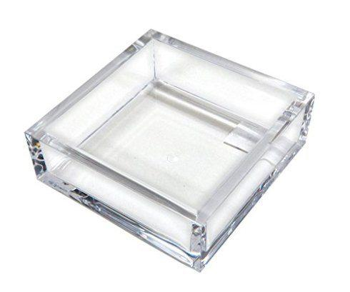 Caspari   ACRYLIC LUNCHEON NAPKIN HOLDER $30.00