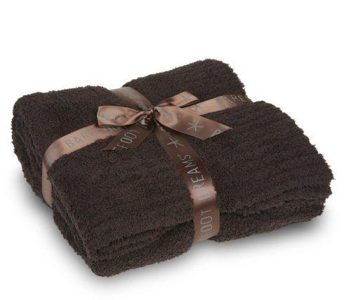 Barefoot Dreams   COZYCHIC THROW-ESPRESSO $147.00