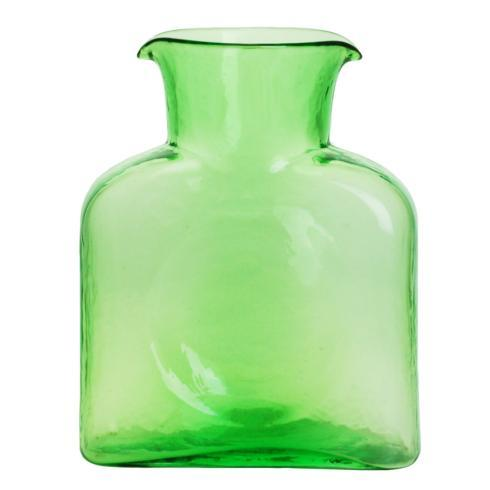 Blenko Glass Co   GLASS WATER BOTTLE-SPRING GREEN $53.00
