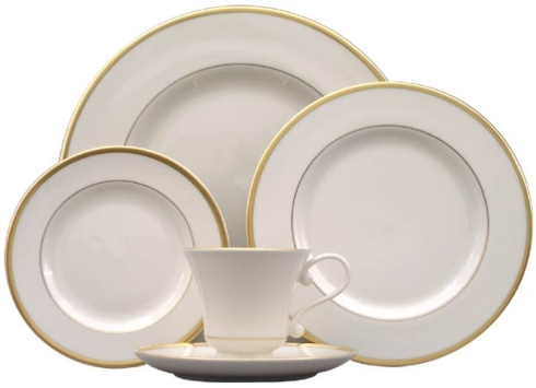 Pickard Monogram   5 PIECE PLACESETTING $215.00
