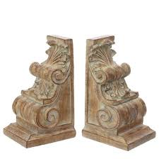 $59.99 SCROLL BOOKENDS