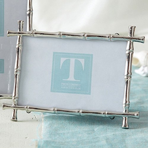 Two's Company   BAMBOO FRAME 5 X7 $42.00