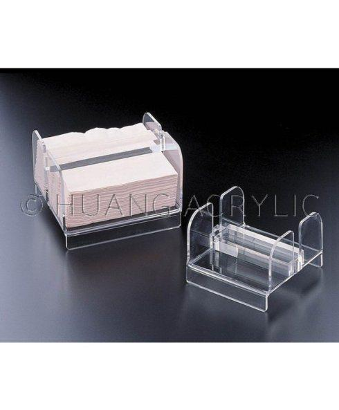 Huang Acrylic   ACRYLIC COCKTAIL NAPKIN HOLDER $20.00
