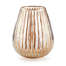 $39.95 RIBBED GLASS LUMINARY