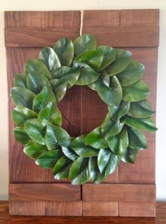 $49.95 MAGNOLIA LEAF WREATH
