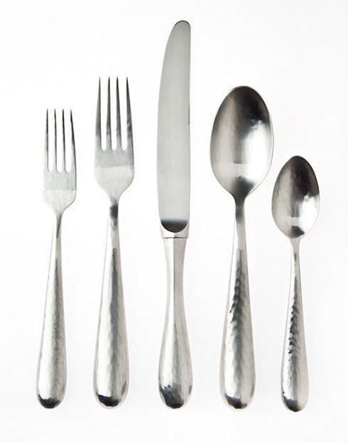 Barbara Stewart Exclusives   FLORENCE SATIN 5 PC FLATWARE $95.00