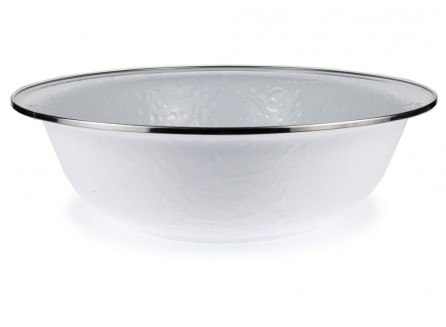 $42.00 ENAMEL SERVING BOWL
