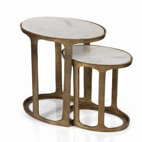 Barbara Stewart Exclusives   NESTING TABLES $415.00