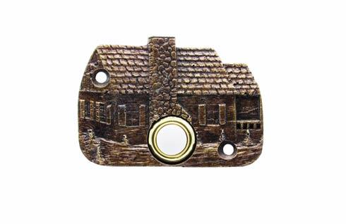 $33.50 Cabin Brass Ox Doorbell