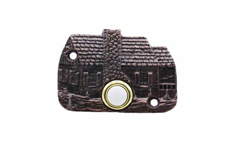 $33.50 Cabin Copper Ox Doorbell