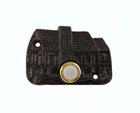 $34.50 Cabin Oil Rubbed Bronze Doorbell