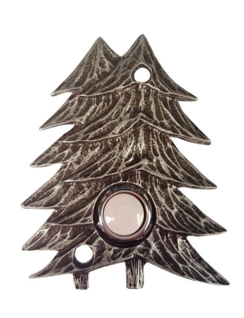 $33.50 Twin Pines Pewter Ox Doorbell