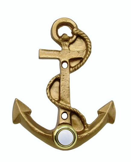 $35.00 Anchor Lux Gold Doorbell