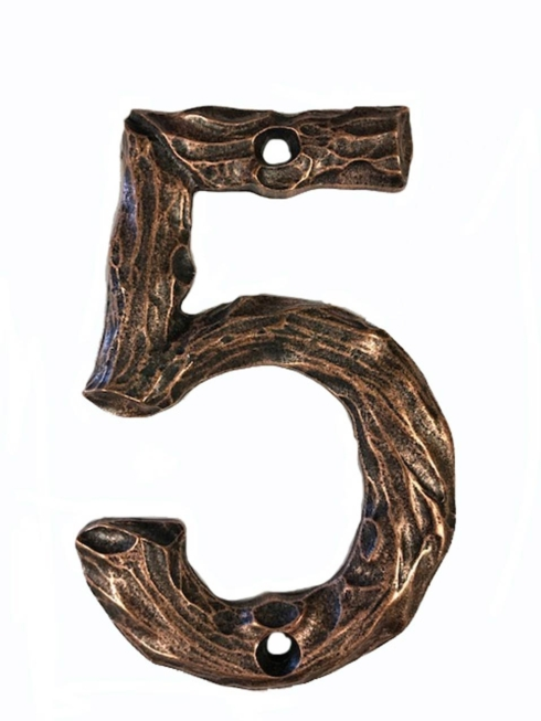 $22.00 Log House Number Five Copper Ox