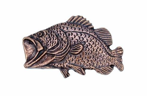 $15.00 Bass Copper Ox Cabinet Knob