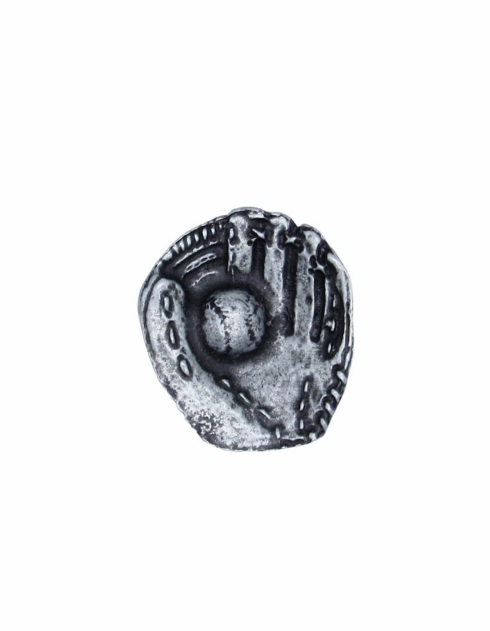 $14.20 Baseball Glove with Ball Pewter Ox Cabinet Knob