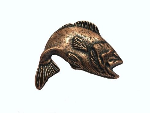 $14.20 Big Bass Copper Ox Cabinet Knob