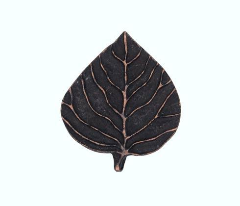 $15.20 Aspen Leaf Oil Rubbed Bronze Cabinet Knob