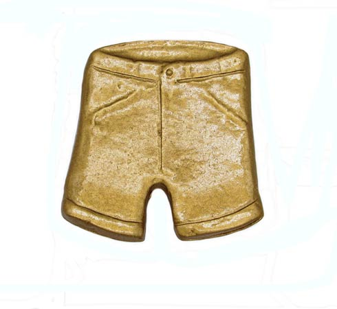 $15.70 Shorts Lux Gold Cabinet Knob