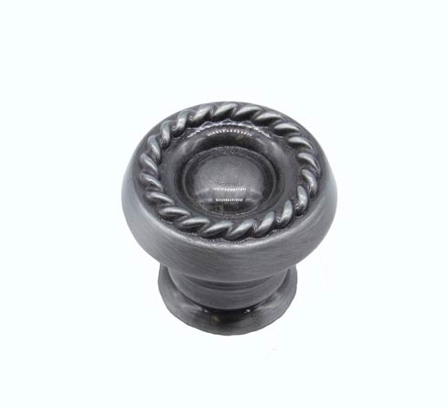 $12.20 Rope Round Pewter Ox Cabinet Knob