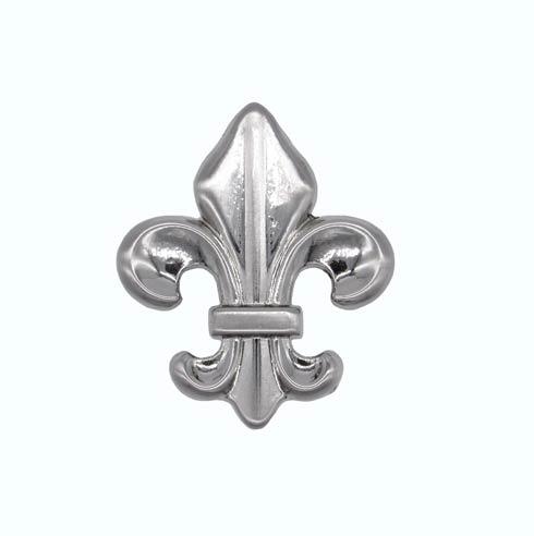 $14.20 Fleur De Lis Satin Nickel Cabinet Knob