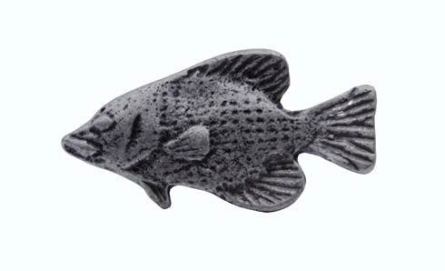 $14.20 Fish Pewter Ox Cabinet Knob