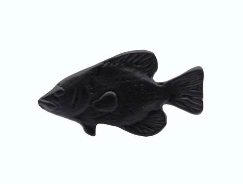 $14.20 Fish Matte Black Cabinet Knob