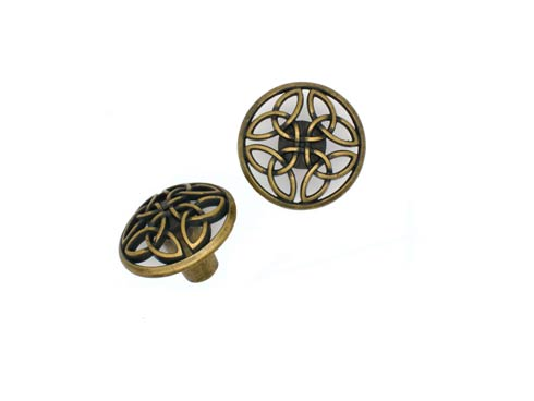 Celtic Brass Ox Cabinet Knob